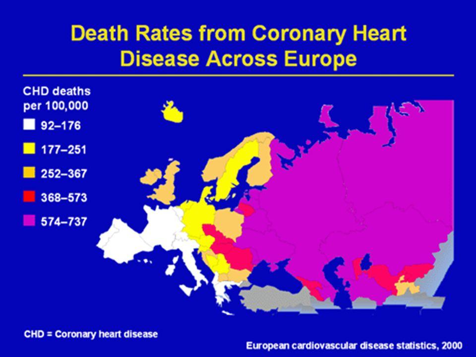 Standaryzowana umieralność z powodu chorób układu krążenia w populacji polskiej, wiek-ogółem, lata 1989-2001, współczynnik dotyczy 100.000 ludności, standaryzacja wg.