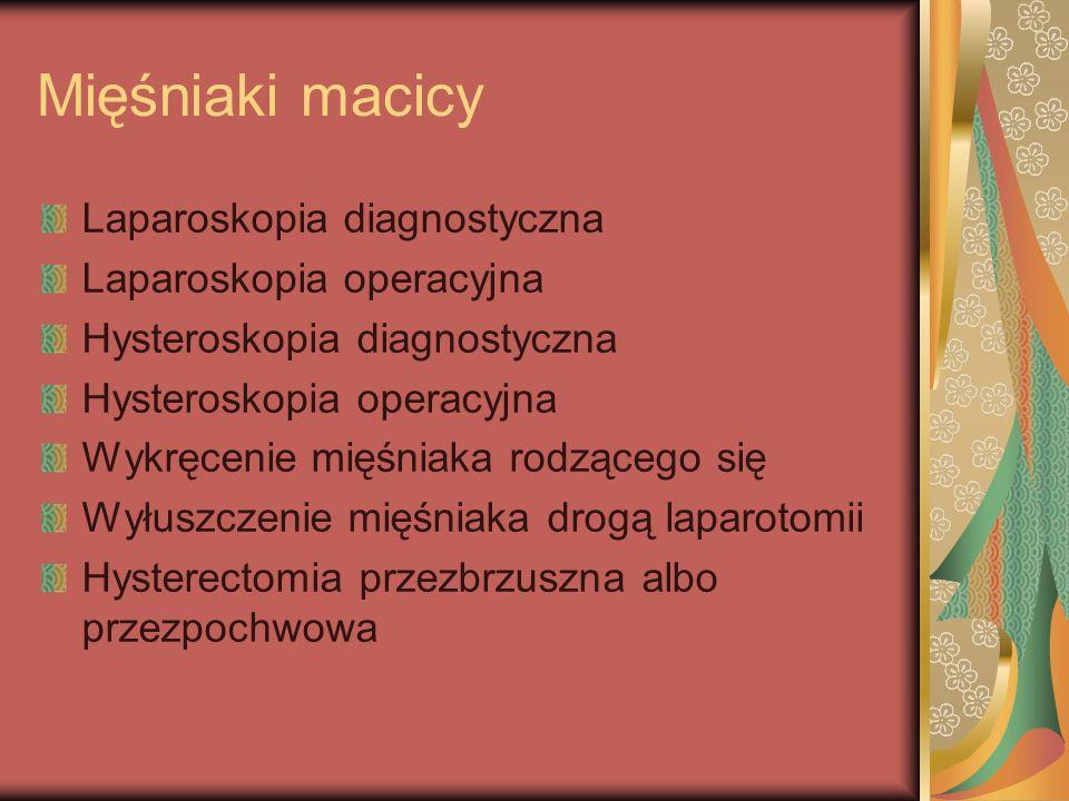 Rak jajnika Panhysterectomia chirurgiczna z lymphadenectomią miedniczną i aortalną, appendectomią i omentectomią