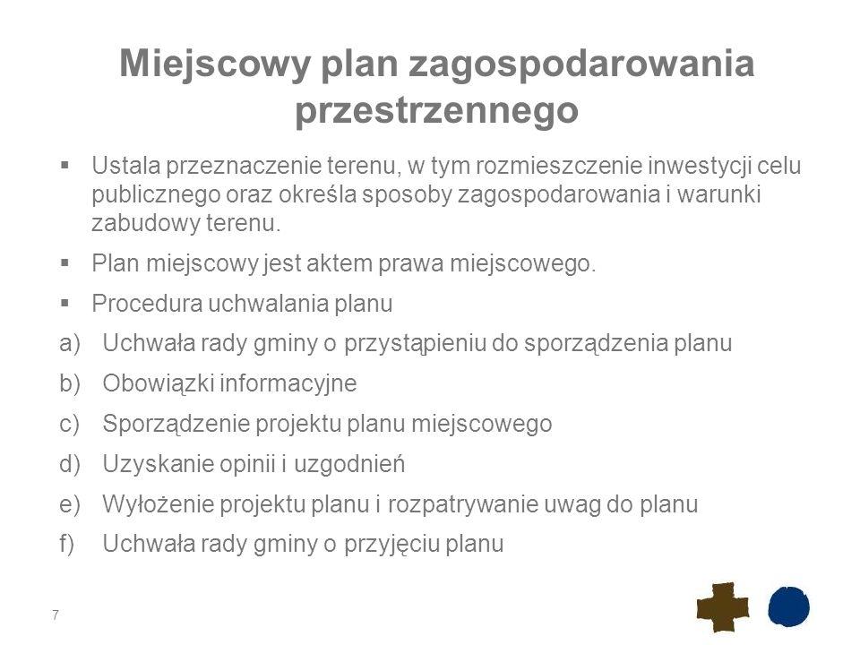 Istotne zmiany w postępowaniu planistycznym w odniesieniu do OZE Nowelizacja ustawy o planowaniu i zagospodarowaniu przestrzennym z dnia 6 sierpnia 2010 r.