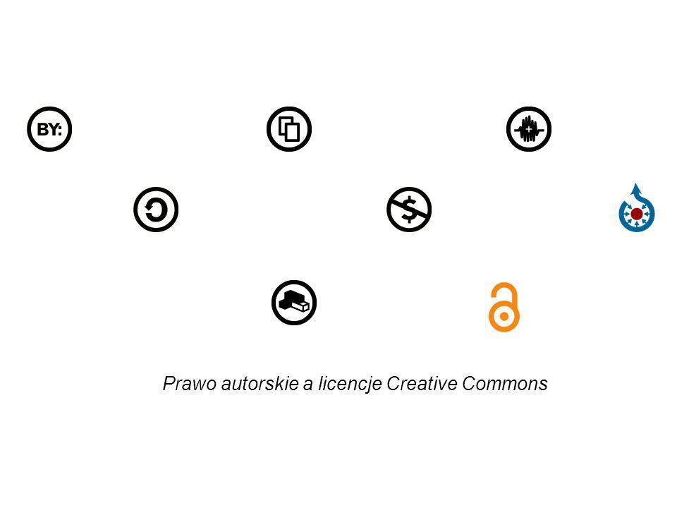 Creative Commons udostępnia licencje w trzech warstwach: kod XHTML przystępne podsumowanie, tekst prawny, http://creativecommons.pl/poznaj-licencje-creative- commons/