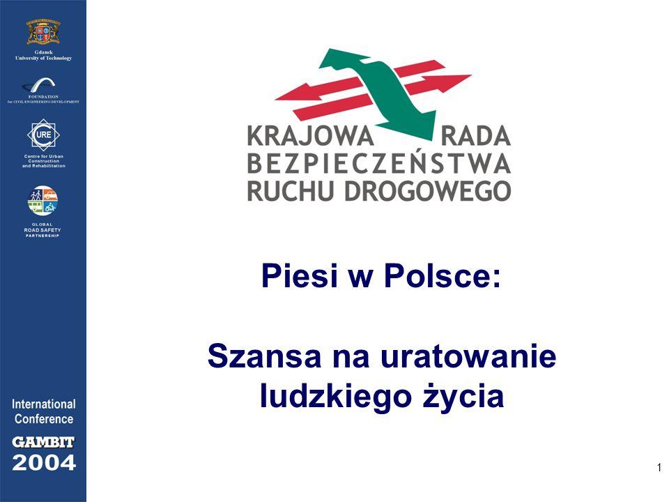 1 Piesi w Polsce: Szansa na uratowanie ludzkiego życia