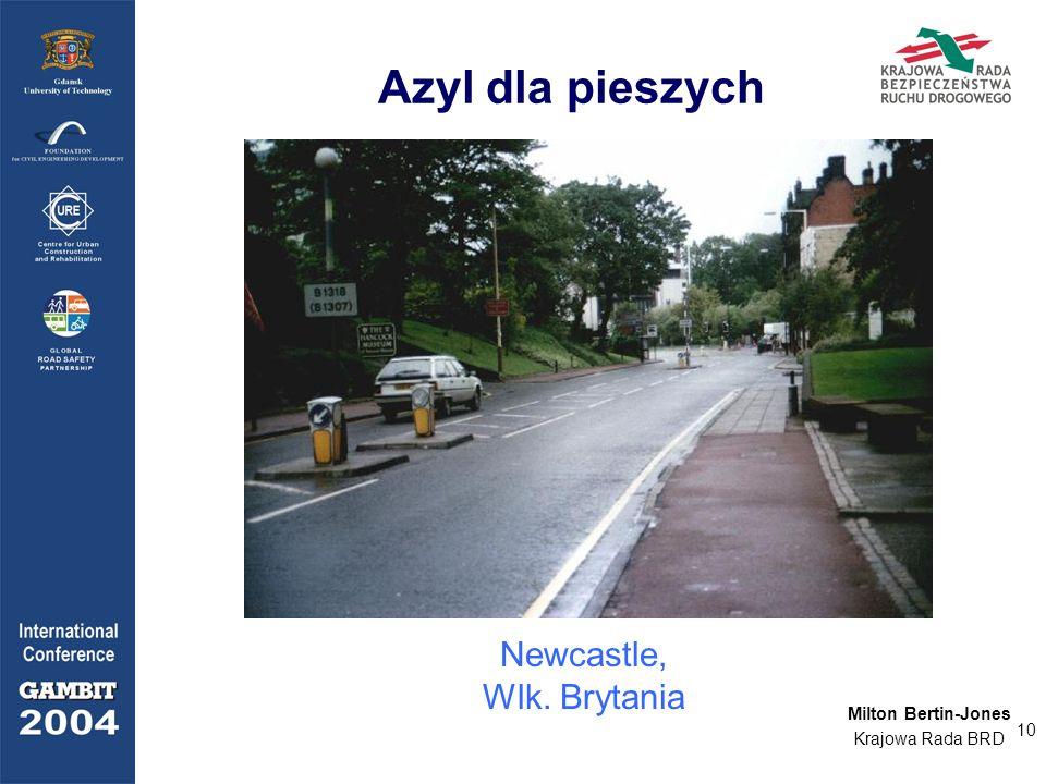 10 Azyl dla pieszych Newcastle, Wlk. Brytania Milton Bertin-Jones Krajowa Rada BRD