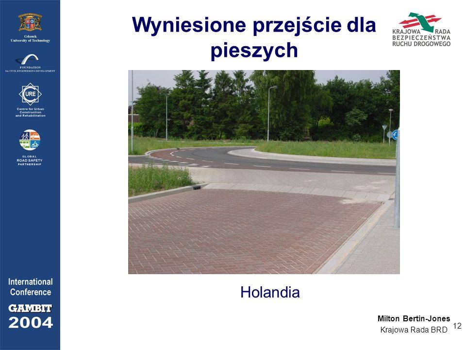 12 Wyniesione przejście dla pieszych Holandia Milton Bertin-Jones Krajowa Rada BRD