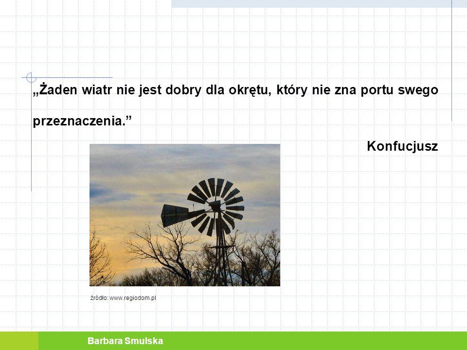 Barbara Smulska ZNACZENIE WIATRU JAKO CZYNNIKA ENERGETYCZNEGO WIATR jest siłą napędową rozwoju cywilizacji.
