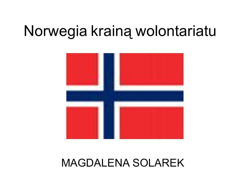 Norwegia krainą wolontariatu MAGDALENA SOLAREK