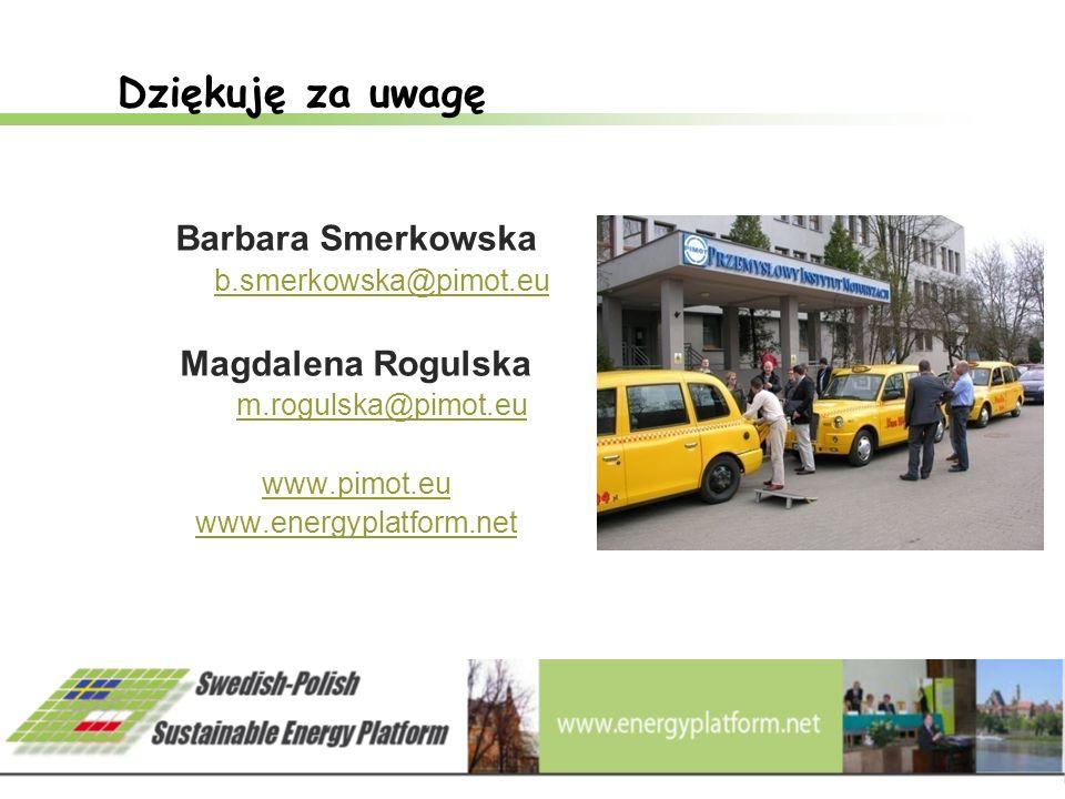 20 Dziękuję za uwagę Barbara Smerkowska b.smerkowska@pimot.eu Magdalena Rogulska m.rogulska@pimot.eu www.pimot.eu www.energyplatform.net