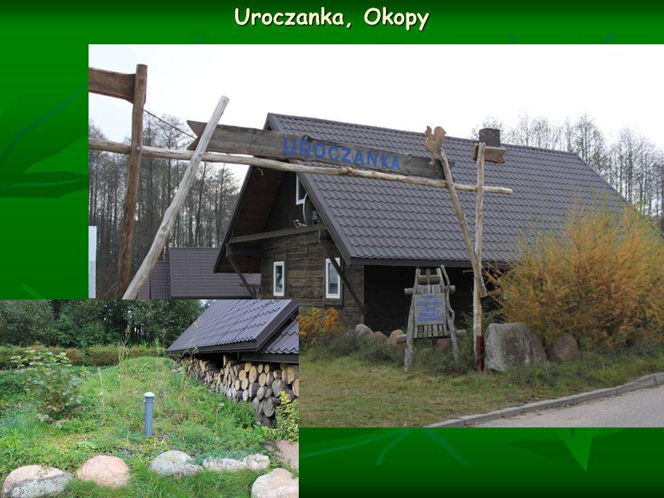 Uroczanka, Okopy