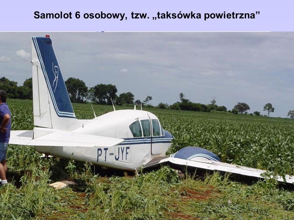 Samolot 6 osobowy, tzw. taksówka powietrzna