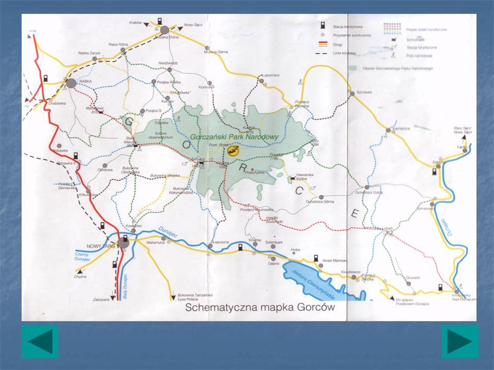 Trasy wycieczek 1.Rzeki – przełęcz Borek – KoninaRzeki – przełęcz Borek – Konina 2.Konina – KoninkiKonina – Koninki 3.Koninki – Tobołów – Poręba górnaKoninki – Tobołów – Poręba górna 4.Rzeki – TurbaczRzeki – Turbacz 5.Turbacz – Obidowiec – Stare Wierchy – RabkaTurbacz – Obidowiec – Stare Wierchy – Rabka 6.Turbacz – przełęcz KnurowskaTurbacz – przełęcz Knurowska 7.Przełęcz Knurowska – Lubań – KrościenkoPrzełęcz Knurowska – Lubań – Krościenko 8.Rdzawka – Stare WierchyRdzawka – Stare Wierchy 9.Knurów – OchotnicaKnurów – Ochotnica 10.Zasadne – Wierch Młynne – Ochotnica Dolna – Tylmanowa Rzeki – Zabrzeż – Kamienica – ZasadneZasadne – Wierch Młynne – Ochotnica Dolna – Tylmanowa Rzeki – Zabrzeż – Kamienica – Zasadne