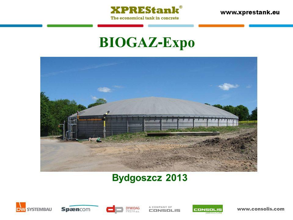 www.consolis.com www.xprestank.eu BIOGAZ - Expo Bydgoszcz 2013