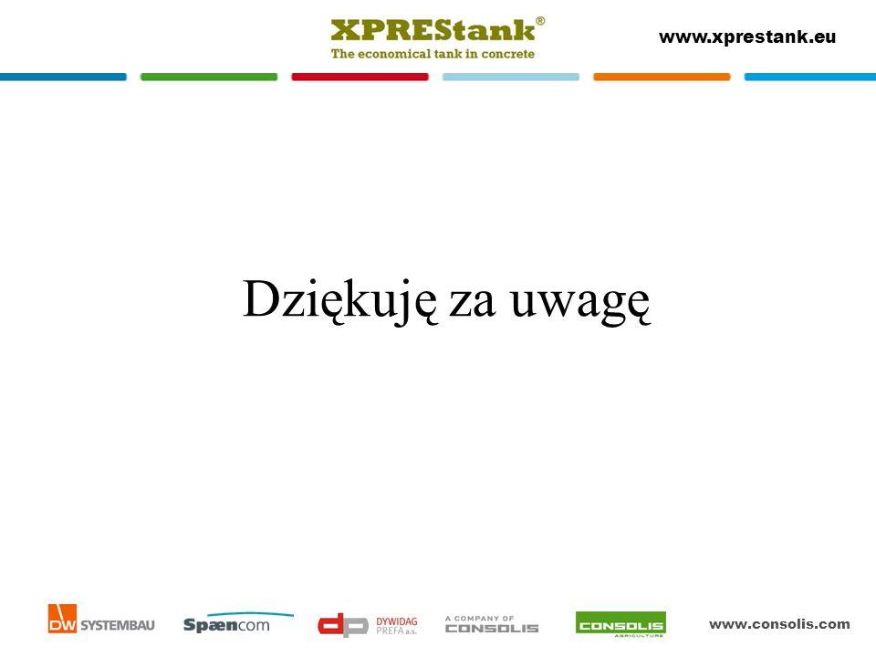 www.consolis.com www.xprestank.eu Dziękuję za uwagę