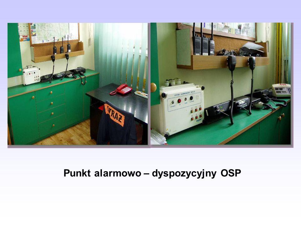 Punkt alarmowo – dyspozycyjny OSP