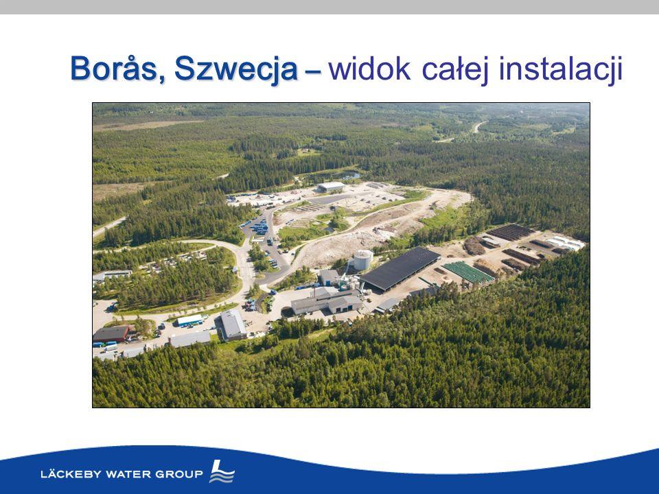 Borås, Szwecja – Borås, Szwecja – widok całej instalacji