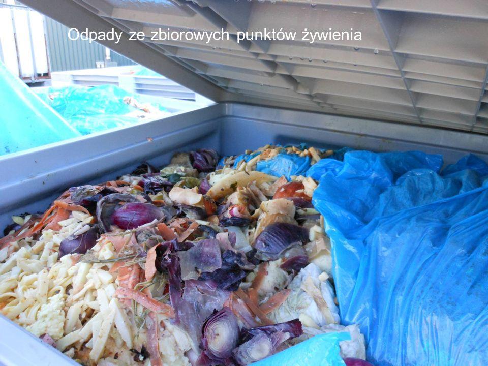 23 Odpady ze zbiorowych punktów żywienia