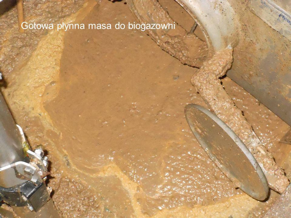 30 Gotowa płynna masa do biogazowni