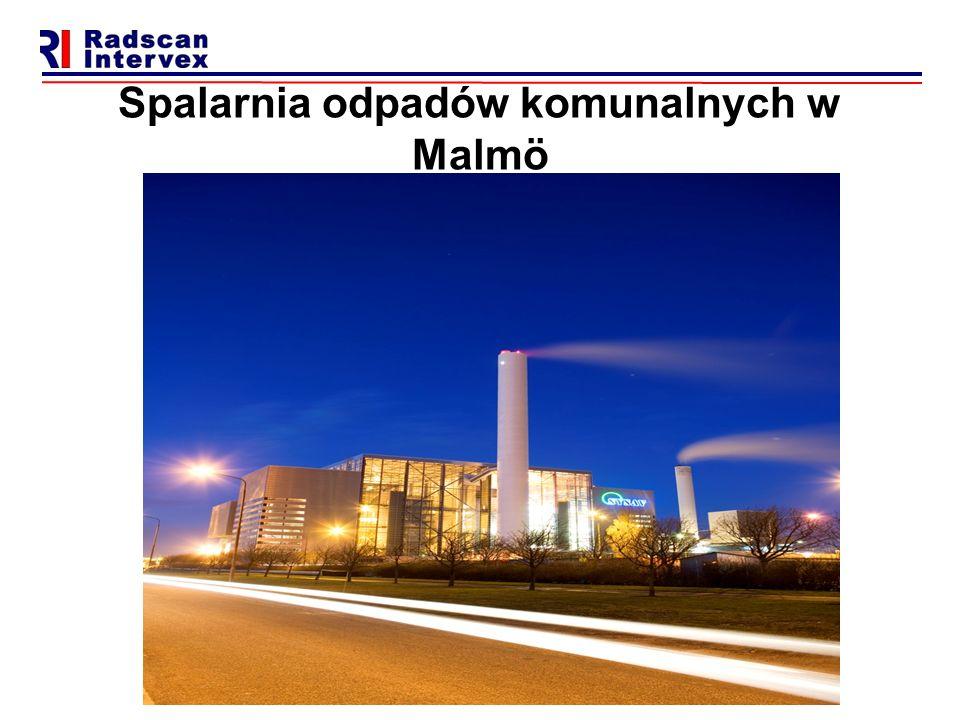 Spalarnia odpadów komunalnych w Malmö