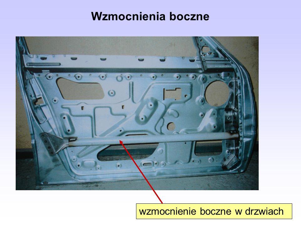 Poduszki gazowe Rodzaje poduszek gazowych: uruchamiane mechanicznie (występują w używanych pojazdach starszego typu), uruchamiane elektronicznie (we współczesnych modelach samochodów).