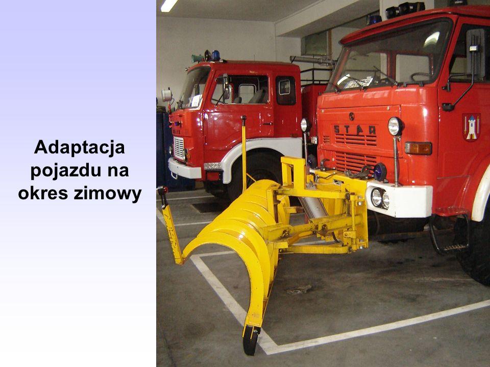 Adaptacja pojazdu na okres zimowy