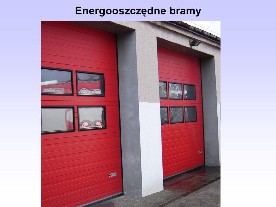 Energooszczędne bramy