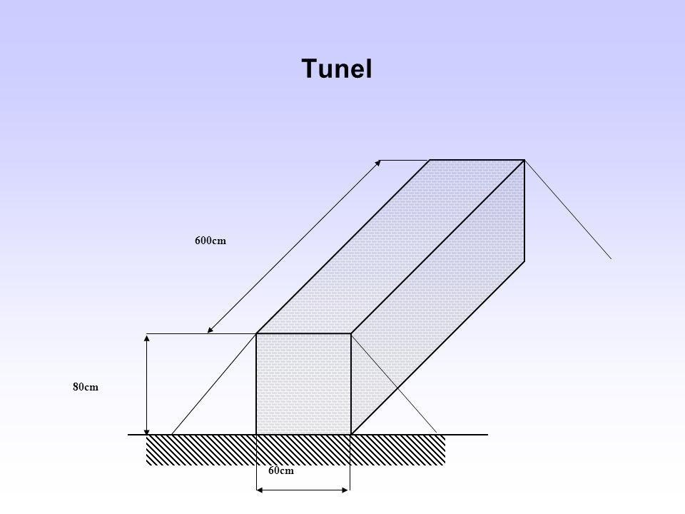 Tunel 60cm 80cm 600cm