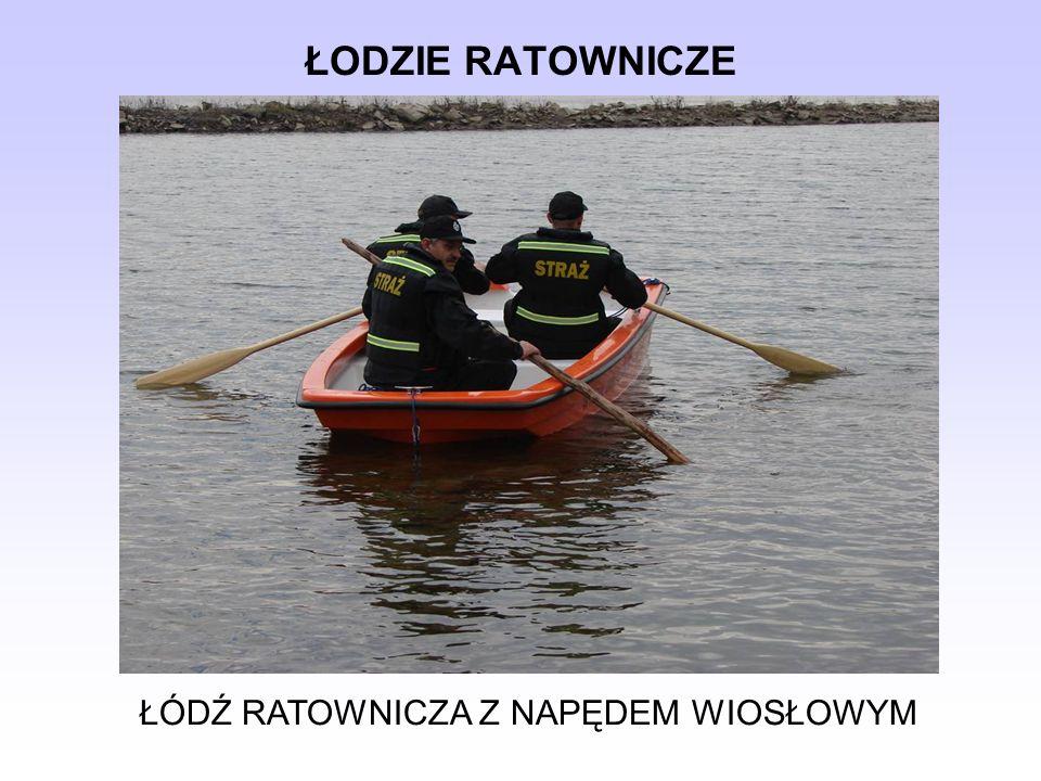 ŁODZIE RATOWNICZE 1.SILNIK, 2. WAŁ NAPĘDOWY, 3. TURBINA, 4.