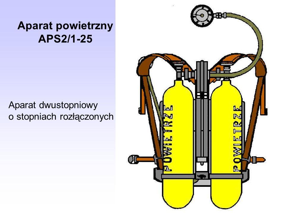 Aparat powietrzny APS2/1-25 Aparat dwustopniowy o stopniach rozłączonych