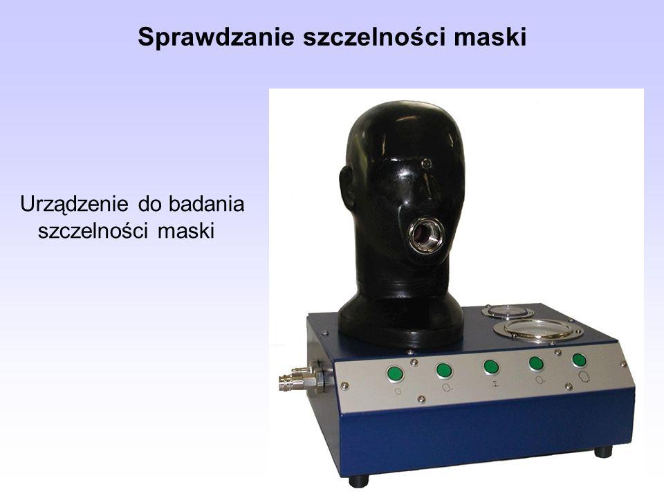 Sprawdzanie szczelności maski Urządzenie do badania szczelności maski