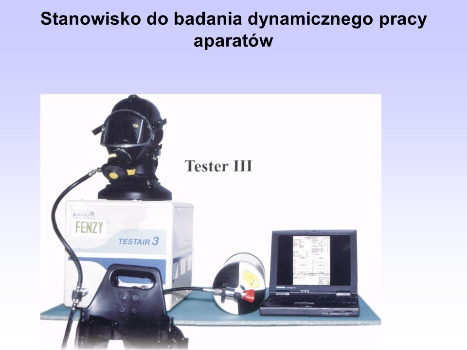 Stanowisko do badania dynamicznego pracy aparatów