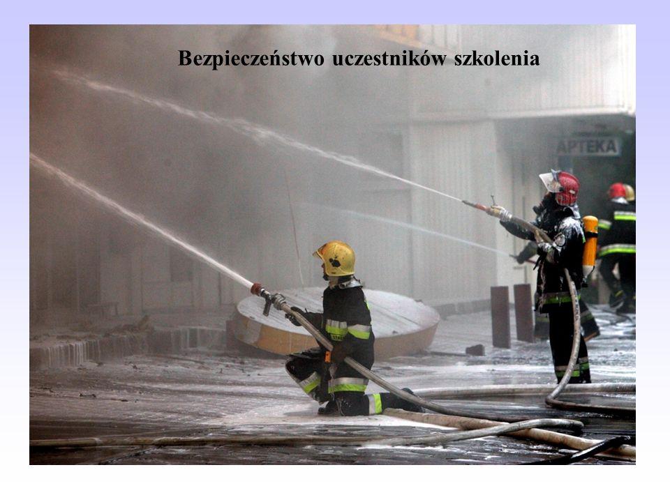 Bezpieczeństwo uczestników szkolenia