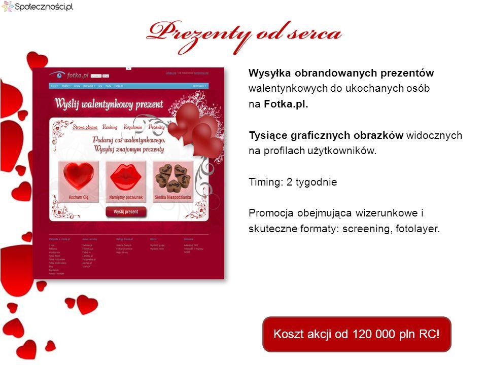 Foto konkurs na dedykowanej sekcji obrandowanej materiałami klienta na kobiecym serwisie szafa.pl.