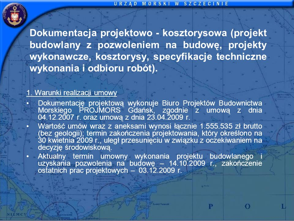 Dokumentacja projektowo - kosztorysowa (projekt budowlany z pozwoleniem na budowę, projekty wykonawcze, kosztorysy, specyfikacje techniczne wykonania