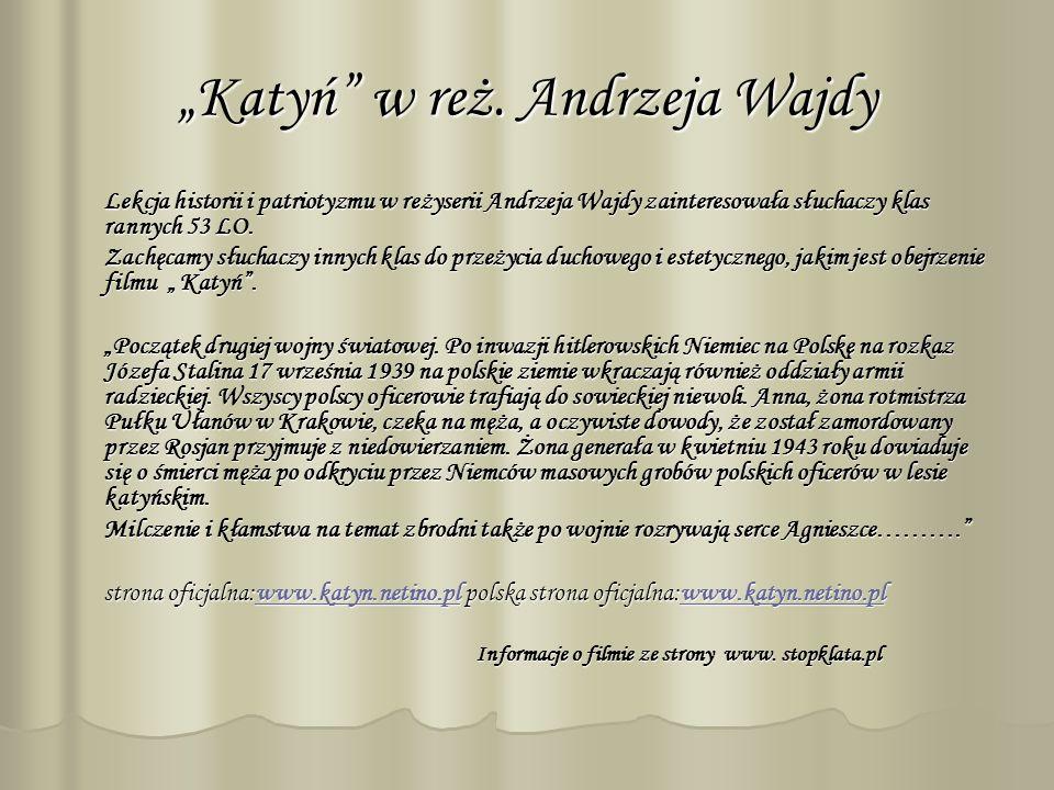 Katyń w reż.