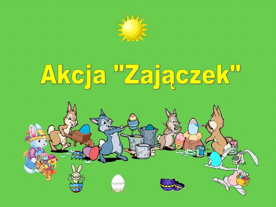 Szkolny wolontariat informuje, że na terenie naszej szkoły została przeprowadzona akcja Zajączek.