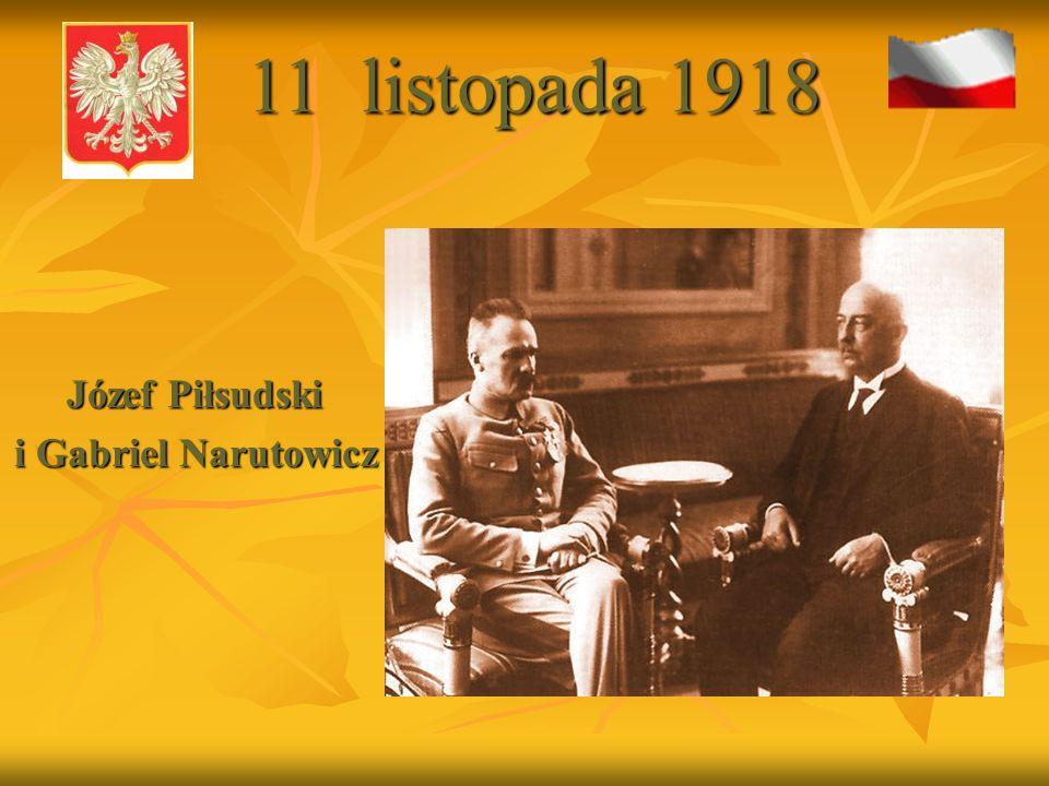 Józef Piłsudski przed spotkaniem z Prezydentem Stanisławem Wojciechowskim na moście Poniatowskiego - V 1926 11 listopada 1918