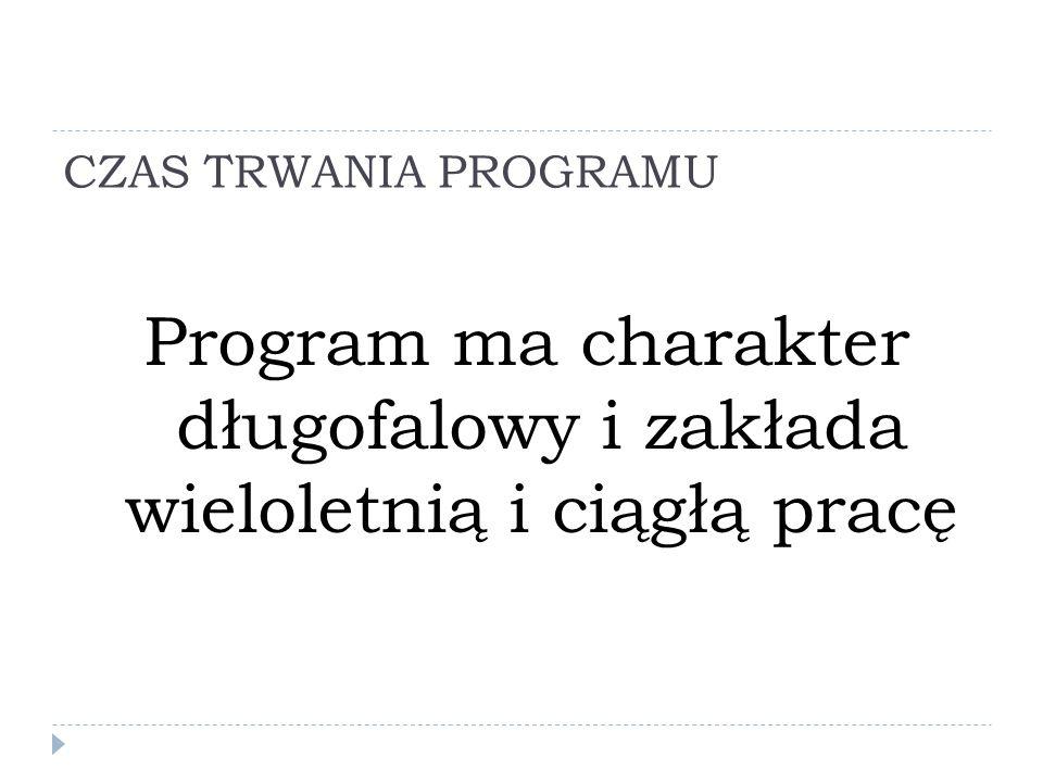 KOSZTY REALIZACJI PROGRAMU Organizowane w ramach programu szkolenia, narady, konferencje dla lokalnych zespołów interdyscyplinarnych finansowane są ze środków przeznaczonych na realizację Wojewódzkiego programu profilaktyki i rozwiązywania problemów alkoholowych
