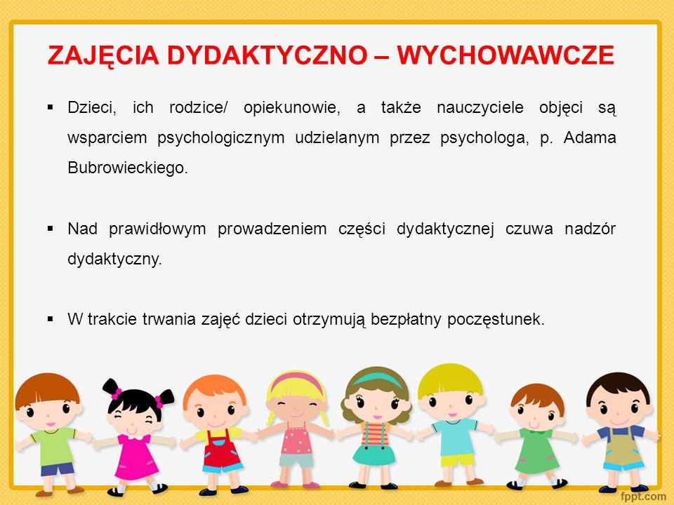 STRONA INTERNETOWA Podczas zajęć nauczyciele robią zdjęcia, które wspólnie z opisem tego, co działo się w przedszkolu, umieszczają na stronie internetowej projektu: www.e-przedszkola.pl Dzięki temu rodzice/ opiekunowie dzieci mogą na bieżąco śledzić postępy swoich pociech, a także komunikować się z zespołem projektowym i innymi rodzicami na forum umieszczonym na stronie.