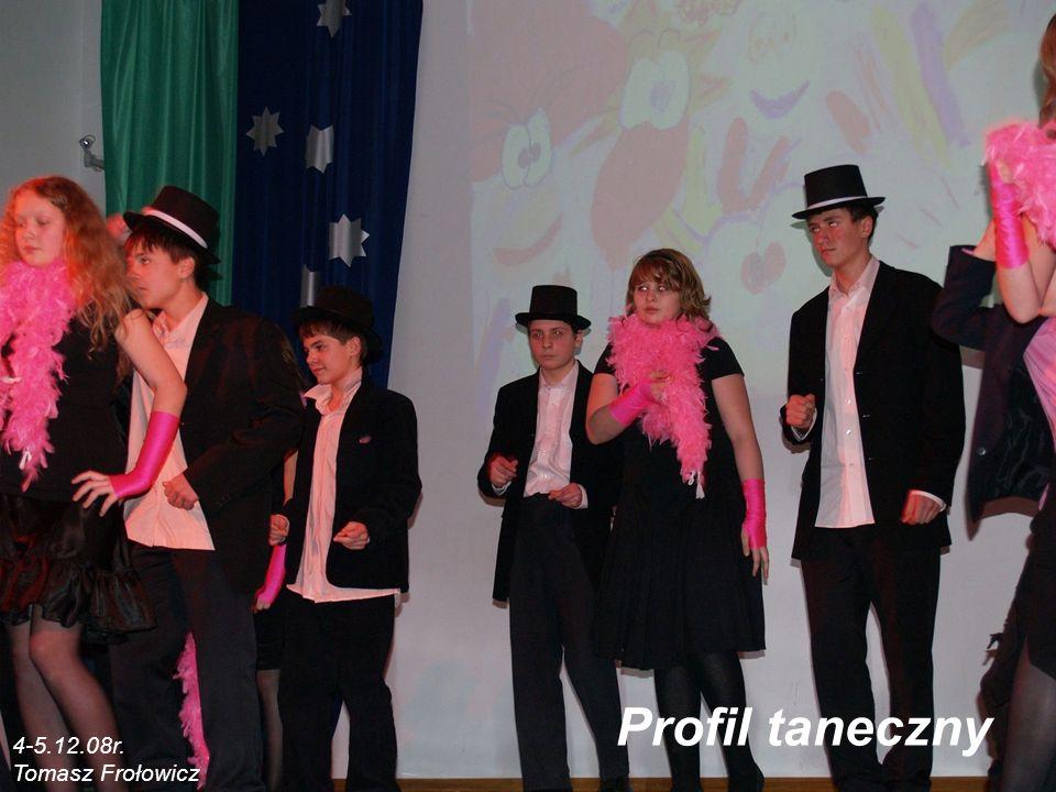 Profil taneczny 4-5.12.08r. Tomasz Frołowicz