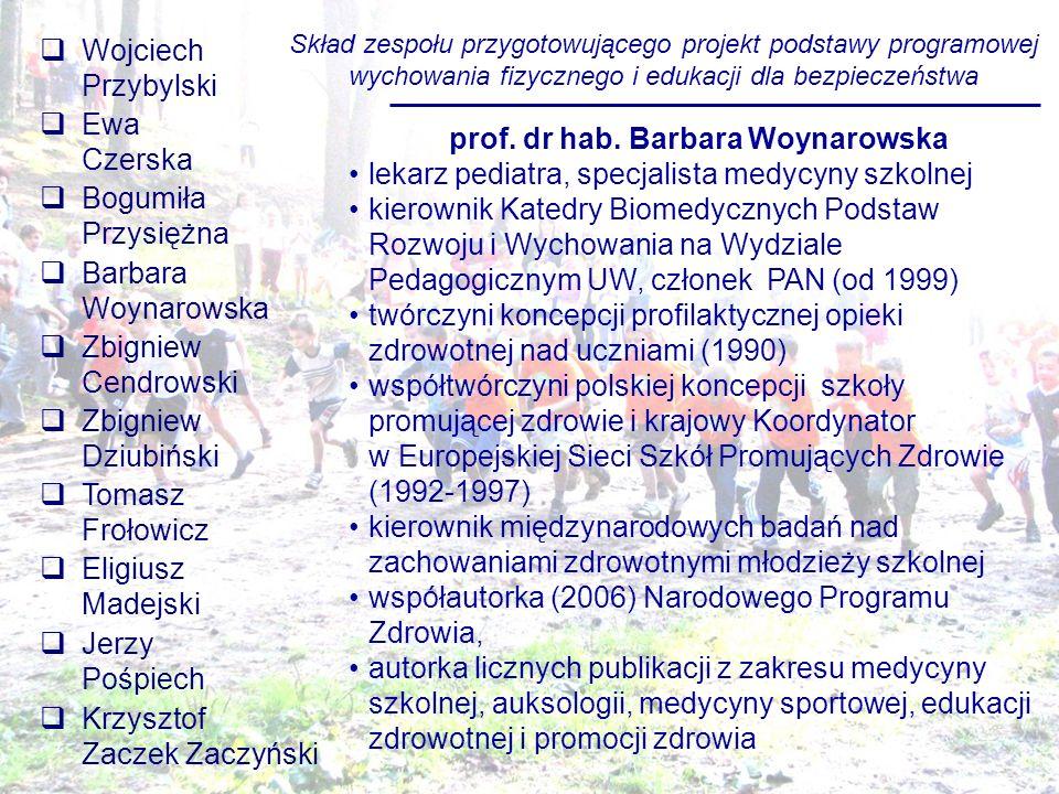 Tomasz Frołowicz AWFiS w Gdańsku Gdańsk-Sobieszewo 4-5 grudnia 2008 roku NOWA PODSTAWA PROGRAMOWA WYCHOWANIA FIZYCZNEGO