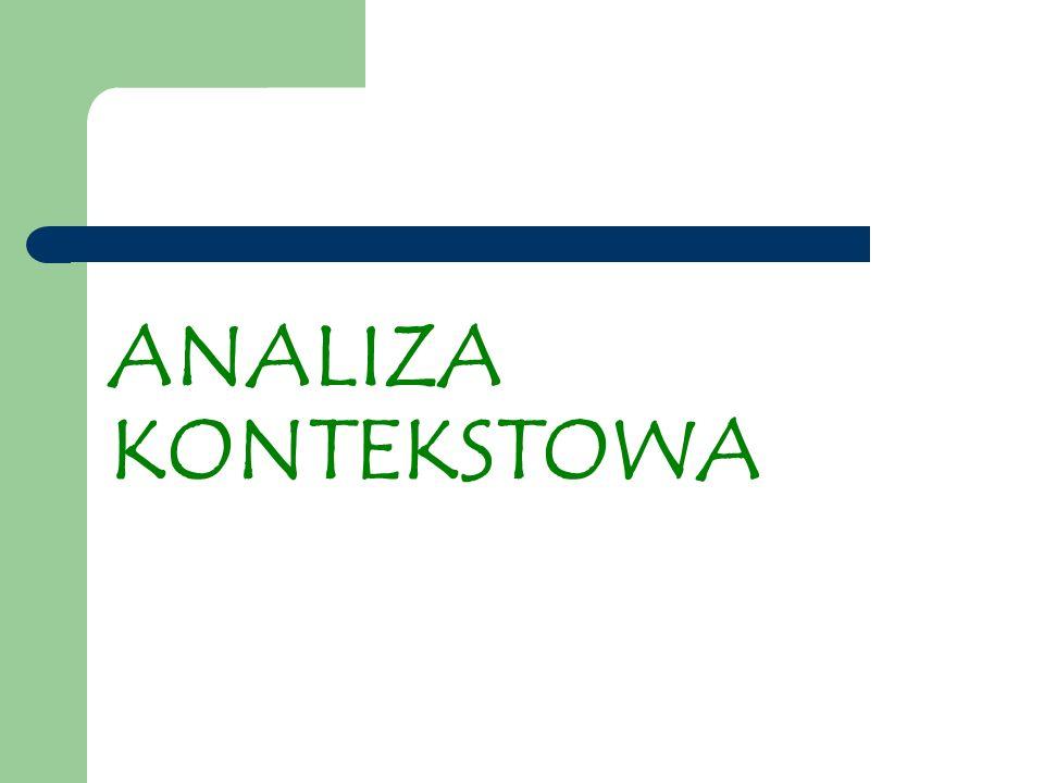 ANALIZA KONTEKSTOWA