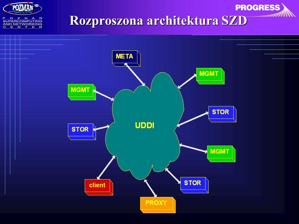 Rozproszona architektura SZD