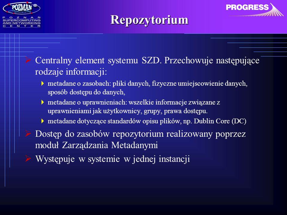 Repozytorium Centralny element systemu SZD.