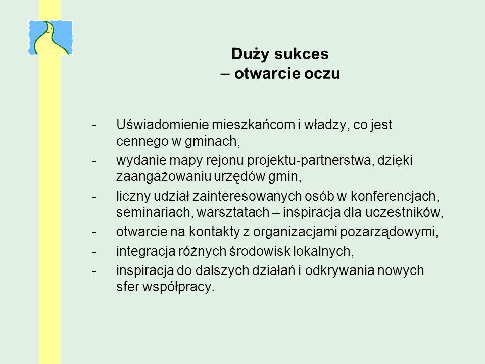 Opinie z gmin (1) Wspólne działania i uczestnictwo w szkoleniach pozwoliło nawiązać wiele kontaktów, dzięki którym można się wspomagać.