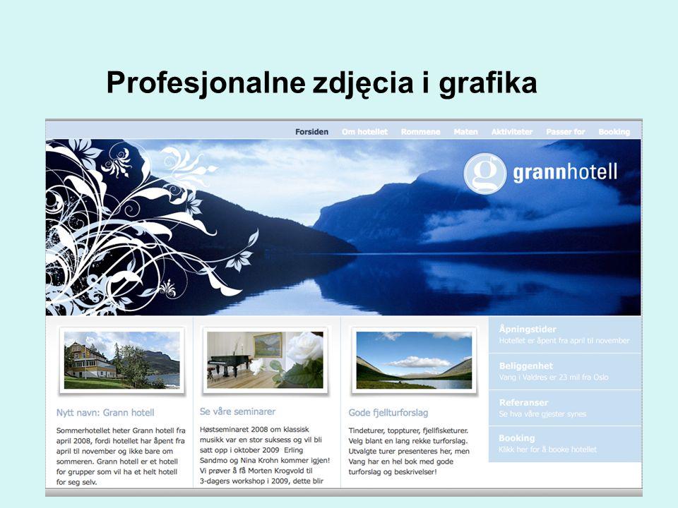 Profesjonalne zdjęcia i grafika