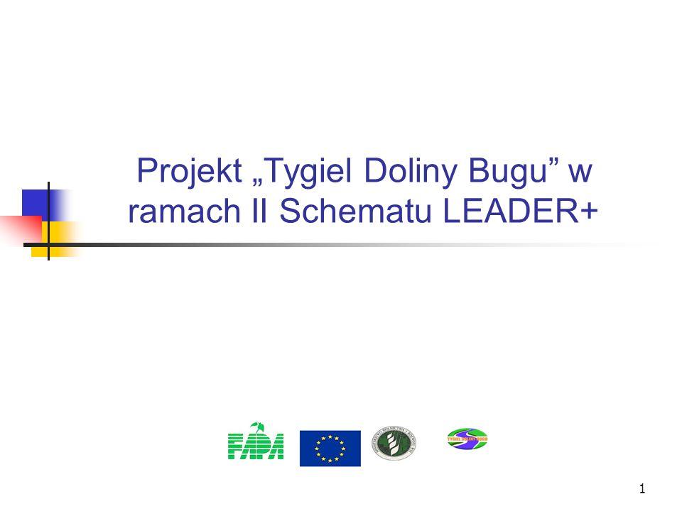 1 Projekt Tygiel Doliny Bugu w ramach II Schematu LEADER+