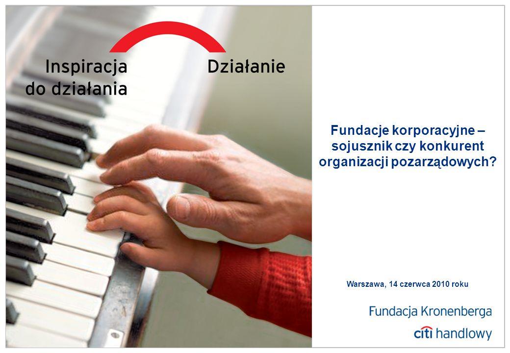 FOTO Fundacje korporacyjne – sojusznik czy konkurent organizacji pozarządowych.