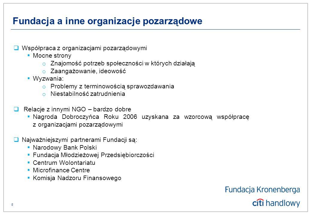9 Fundacja Kronenberga przy Citi Handlowy ul.