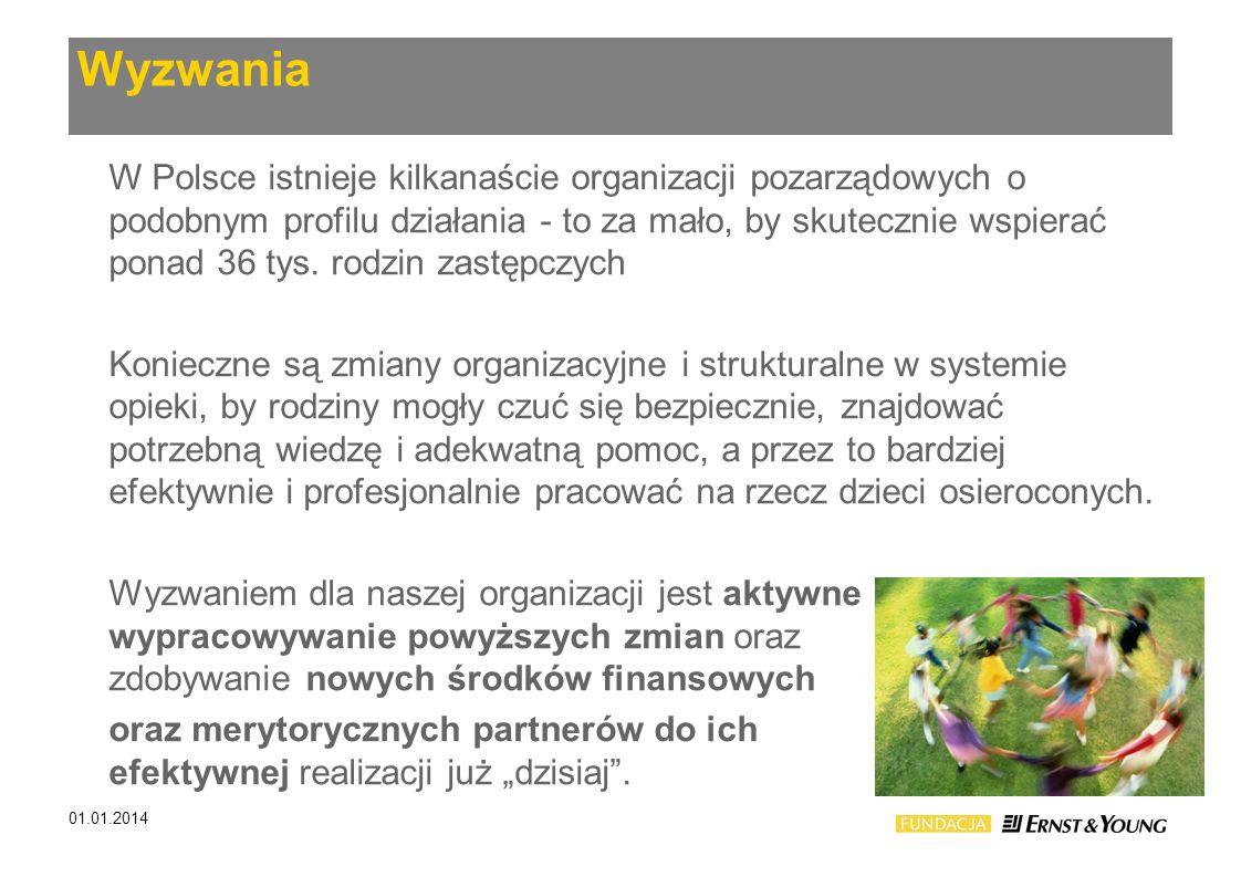 Wyzwania W Polsce istnieje kilkanaście organizacji pozarządowych o podobnym profilu działania - to za mało, by skutecznie wspierać ponad 36 tys. rodzi