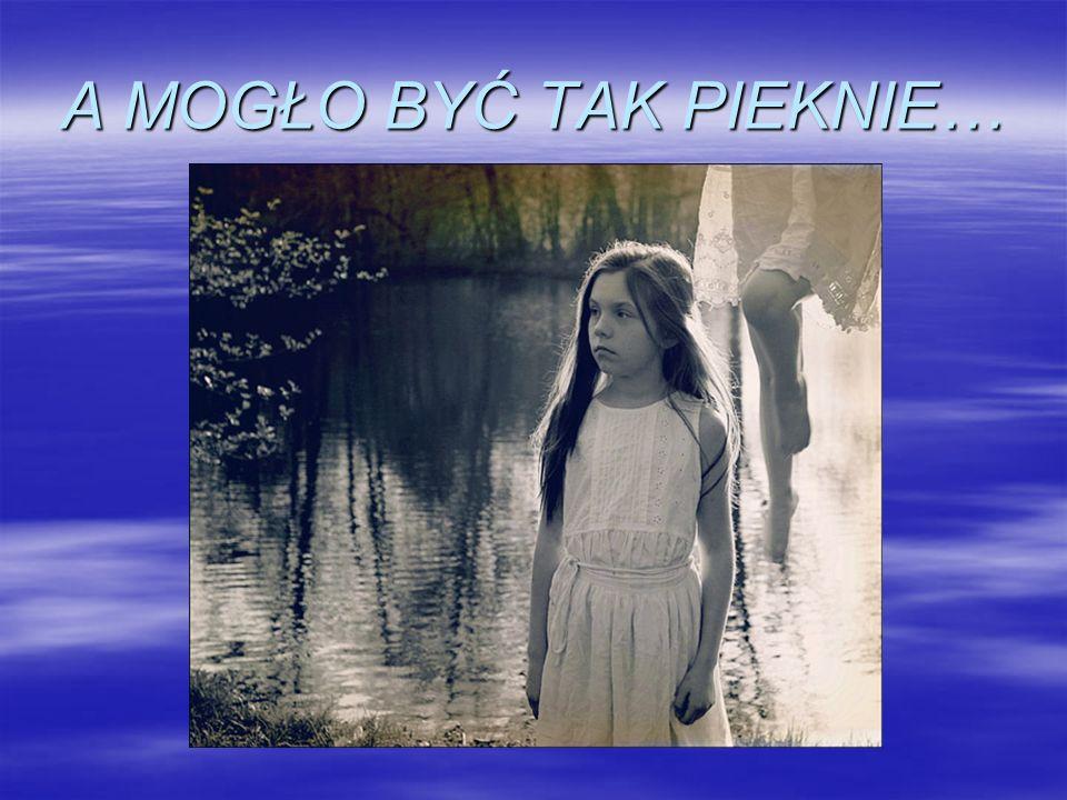 Scenka VII Pijacka melina, brudna zaniedbana dziewczynka czyta list.