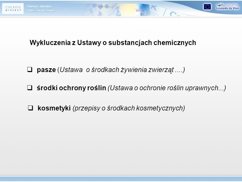 Stężenie substancji, które uwzględnia się w celu klasyfikacji preparatu (bardzo) toksyczne, rakotwórcze kat.