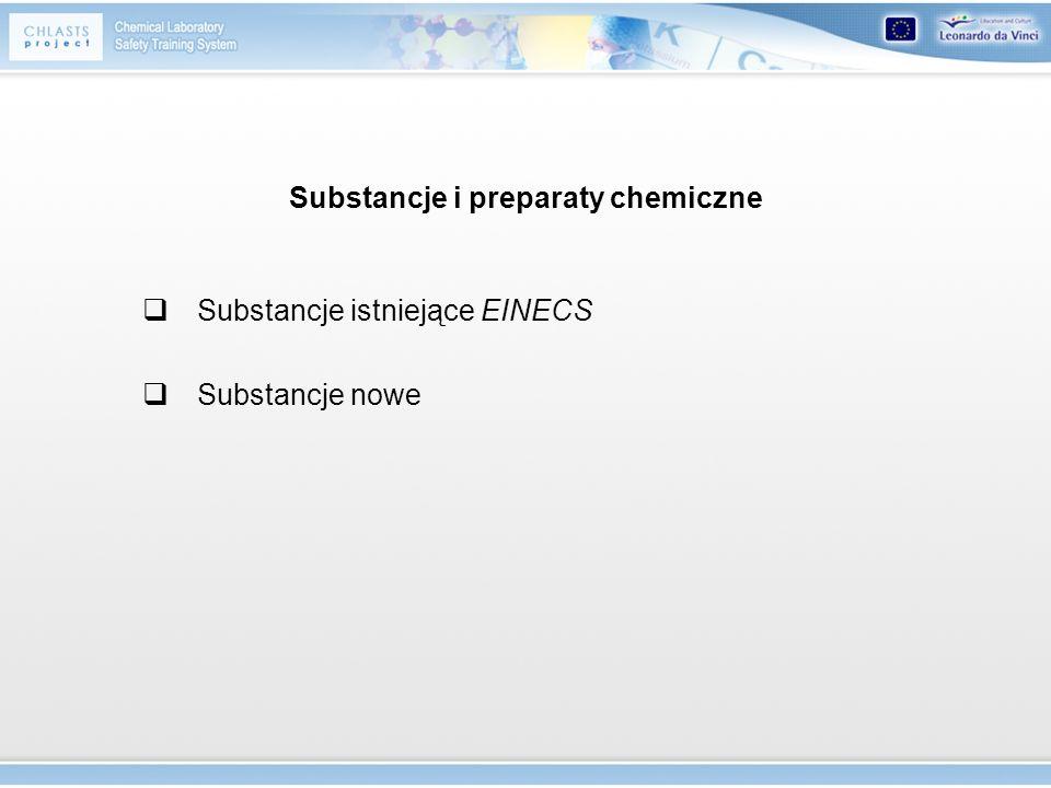 własności fizykochemiczne, Niebezpieczne substancje i preparaty chemiczne działanie na zdrowie, oddziaływanie na środowisko Ocena zagrożenia Substancje i preparaty chemiczne